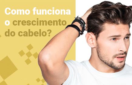 como funciona o crescimento do cabelo?